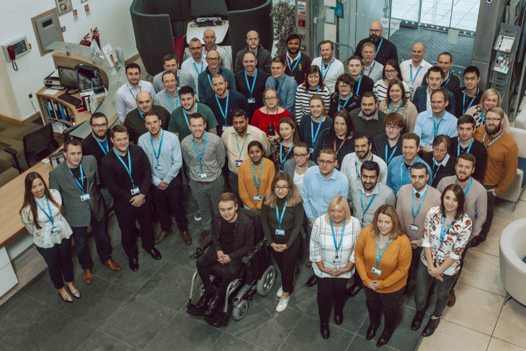 Group photo of NHSBSA Digital team.